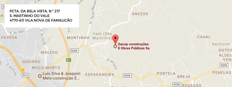 Dacop - Localização