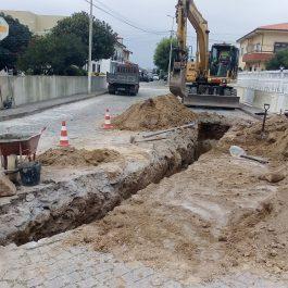 Rede de Drenagem das Águas Pluviais na Rua de S. Sebastião